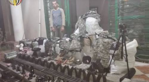 L'arsenale dell'Isis a Sinjar 3