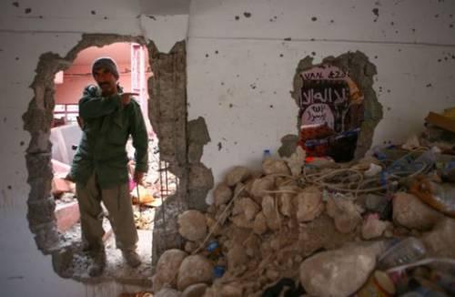 L'arsenale dell'Isis a Sinjar 2