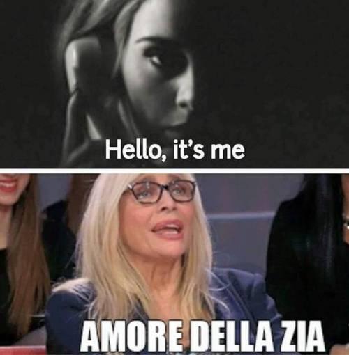 """La """"tristezza di Adele"""" presa di mira dai social 3"""