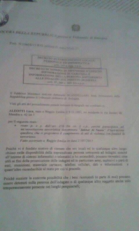 "Gli screenshot che ""inchiodano"" Luca  16"