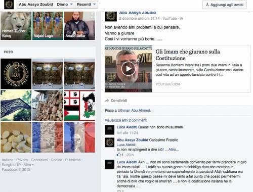 "Gli screenshot che ""inchiodano"" Luca  19"