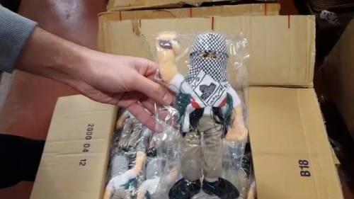 La bambola Intifada per i bimbi palestinesi