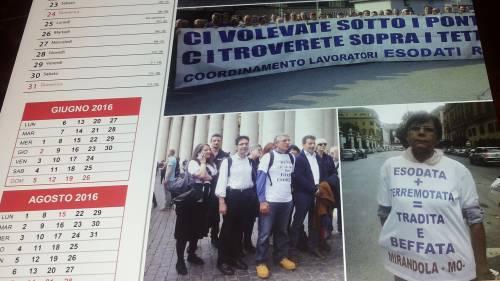 'Esodati e non solo... Una vergogna italiana - Calendario 2016'