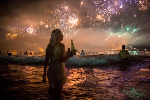 Luci e colori di tutto il mondo per salutare il nuovo anno