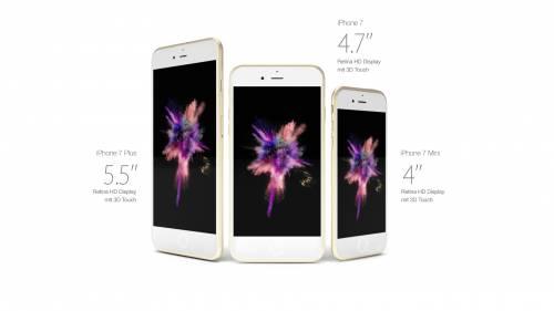 Come potrebbe essere l'iPhone 7 5