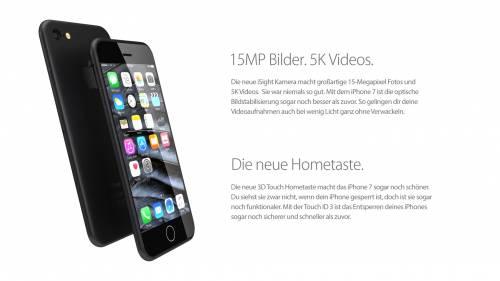 Come potrebbe essere l'iPhone 7 4