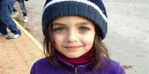 La piccola Monna Lisa siriana? In realtà è una bimba libanese