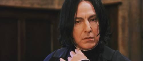 Harry Potter, il segreto della Rowling che rese Piton ciò che era