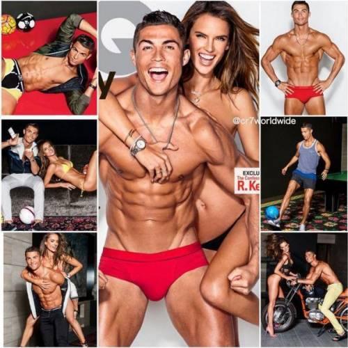 Due fisici perfetti: le pose hot di Ronaldo e della Ambrosio 5