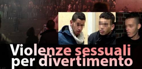 La confessione di 3 algerini sulle molestie di Colonia