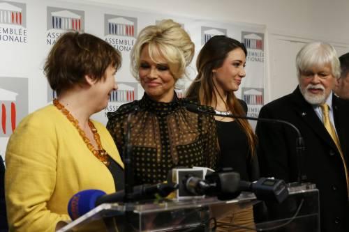 Pamela Anderson contro il foie gras 3