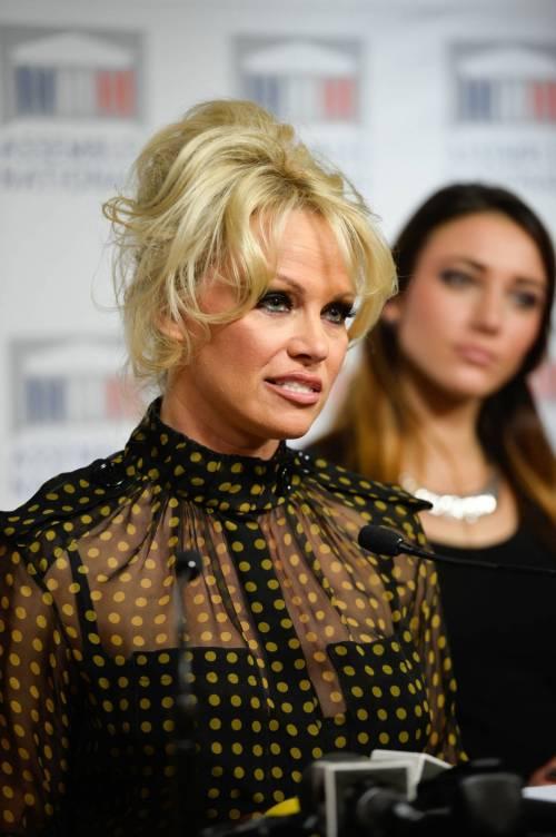 Pamela Anderson contro il foie gras 16