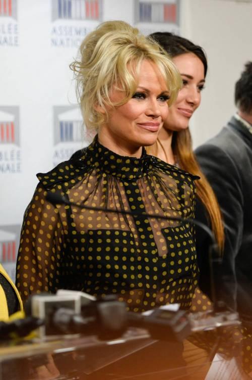 Pamela Anderson contro il foie gras 18