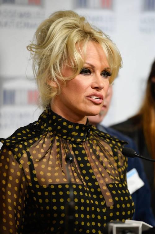 Pamela Anderson contro il foie gras 34