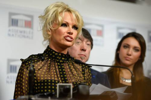 Pamela Anderson contro il foie gras 36