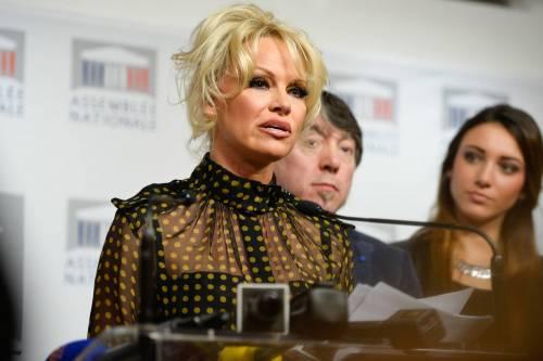 Pamela Anderson contro il foie gras 37