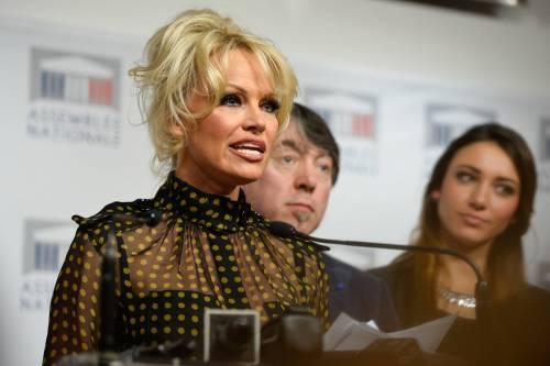 Pamela Anderson contro il foie gras 39