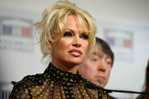 Pamela Anderson contro il foie gras 38