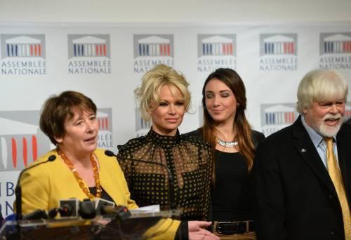 Pamela Anderson contro il foie gras 42