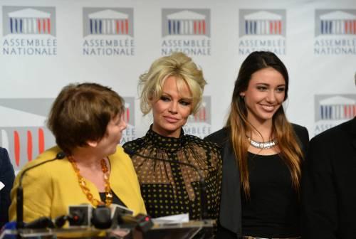 Pamela Anderson contro il foie gras 44