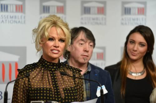 Pamela Anderson contro il foie gras 45
