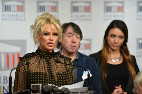 Pamela Anderson contro il foie gras 46