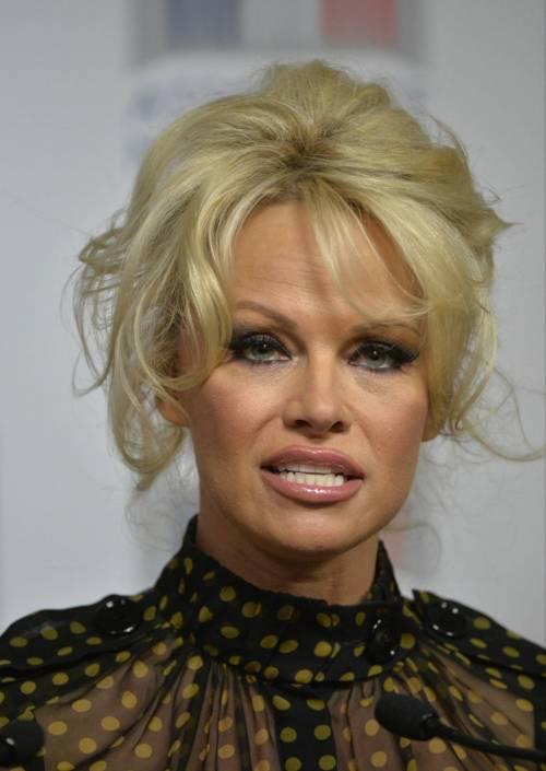 Pamela Anderson contro il foie gras 49