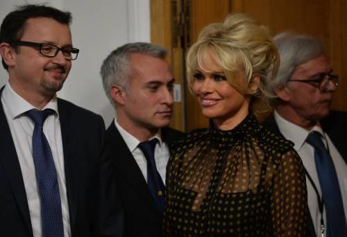 Pamela Anderson contro il foie gras 50