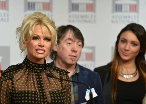 Pamela Anderson contro il foie gras 48