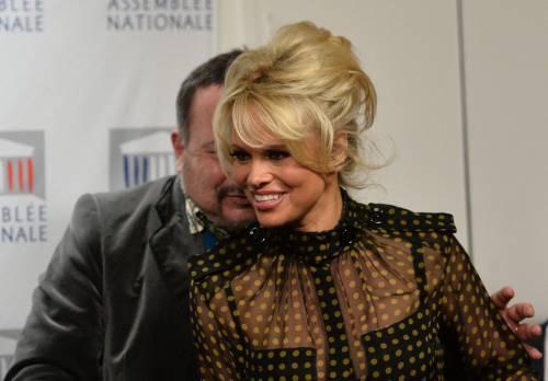 Pamela Anderson contro il foie gras 54