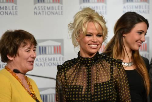 Pamela Anderson contro il foie gras 53