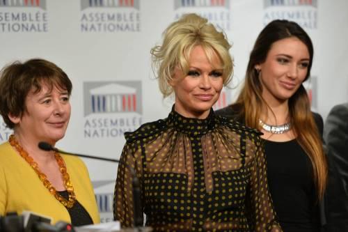 Pamela Anderson contro il foie gras 55