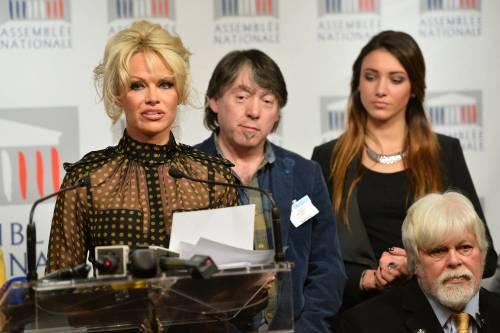 Pamela Anderson contro il foie gras 57