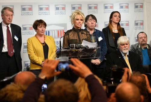 Pamela Anderson contro il foie gras 58