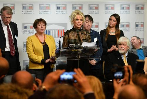 Pamela Anderson contro il foie gras 56