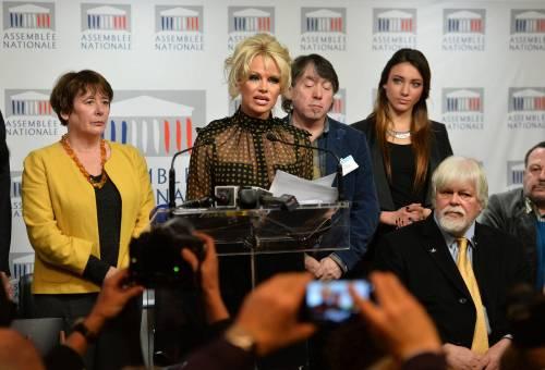 Pamela Anderson contro il foie gras 61