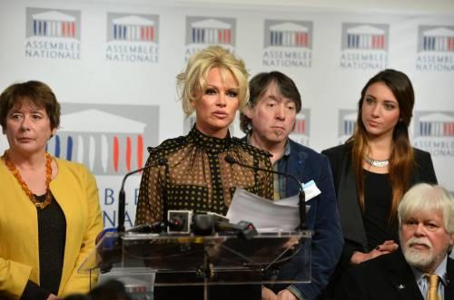 Pamela Anderson contro il foie gras 62
