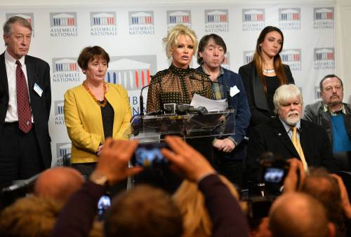 Pamela Anderson contro il foie gras 63
