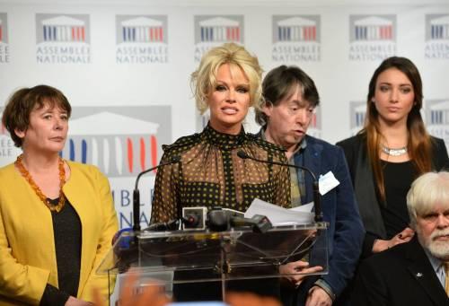 Pamela Anderson contro il foie gras 64