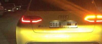 """Lo Stato """"seminato"""" da un'Audi gialla"""