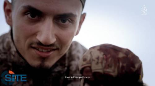Un nuovo video degli otto attentatori di Parigi 2