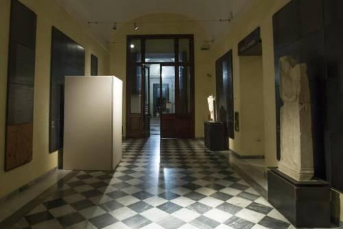 Musei Capitolini, statue di nudo coperte per la visita di Rohani 2