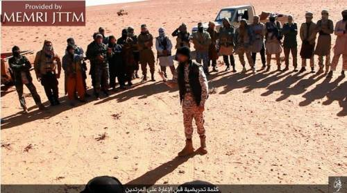 Isis decapita tre persone a Marada 3
