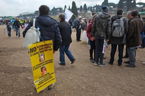 I manifestanti al Family Day 5