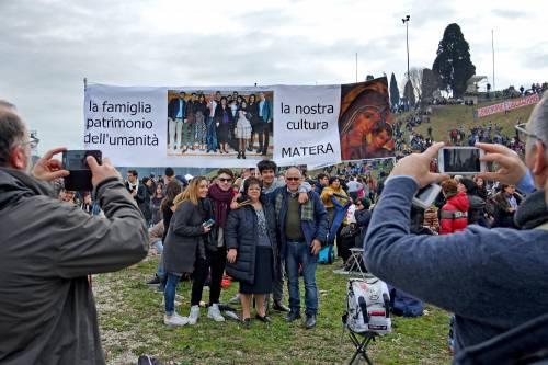 I manifestanti al Family Day 14