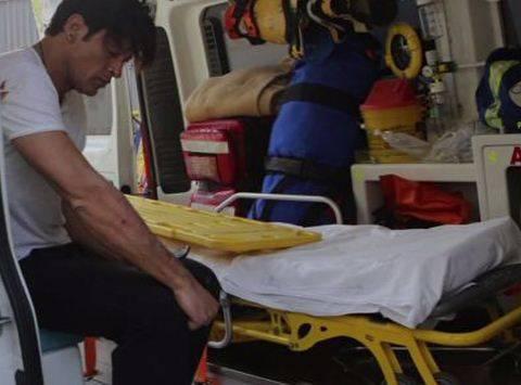 Esplosione in villa a Sanremo: Garko in ospedale 2