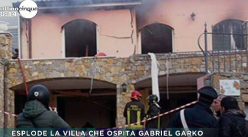 Esplosione in villa a Sanremo: Garko in ospedale 3