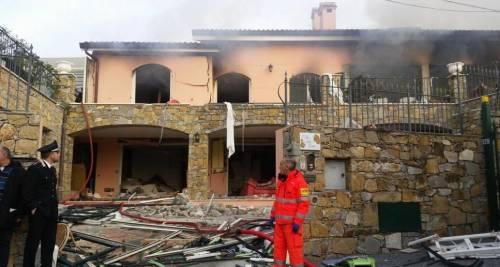 Esplosione in villa a Sanremo: Garko in ospedale 4