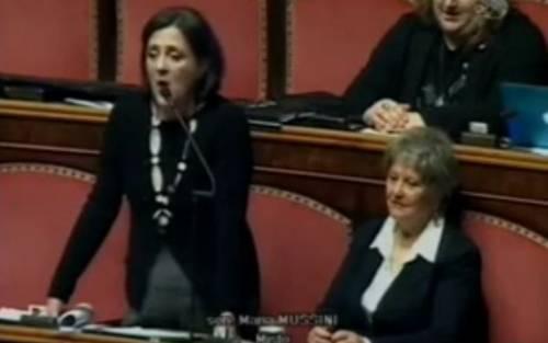 """Blasfemia della senatrice Mussini: """"Gesù non aveva un padre naturale"""""""