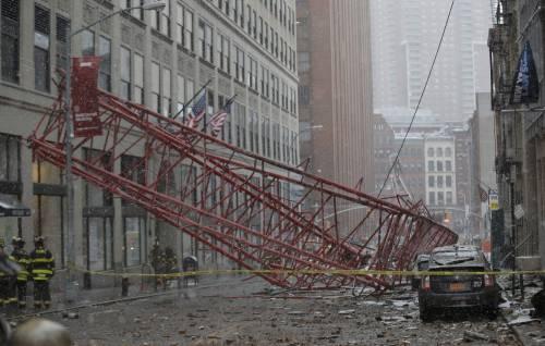 Il crollo a Tribeca 1